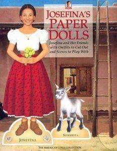 American Girl - Josefina Paper Dolls