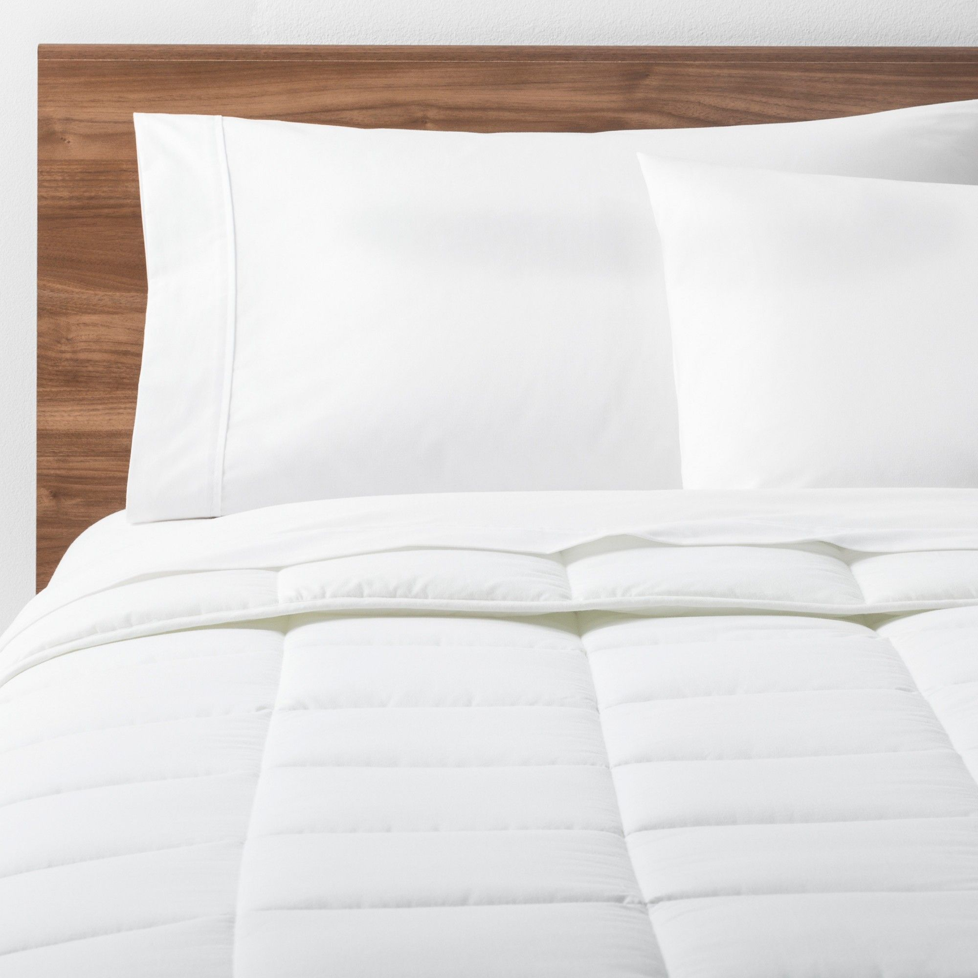 White Solid Down Alternative Comforter Twin Xl Made By Design