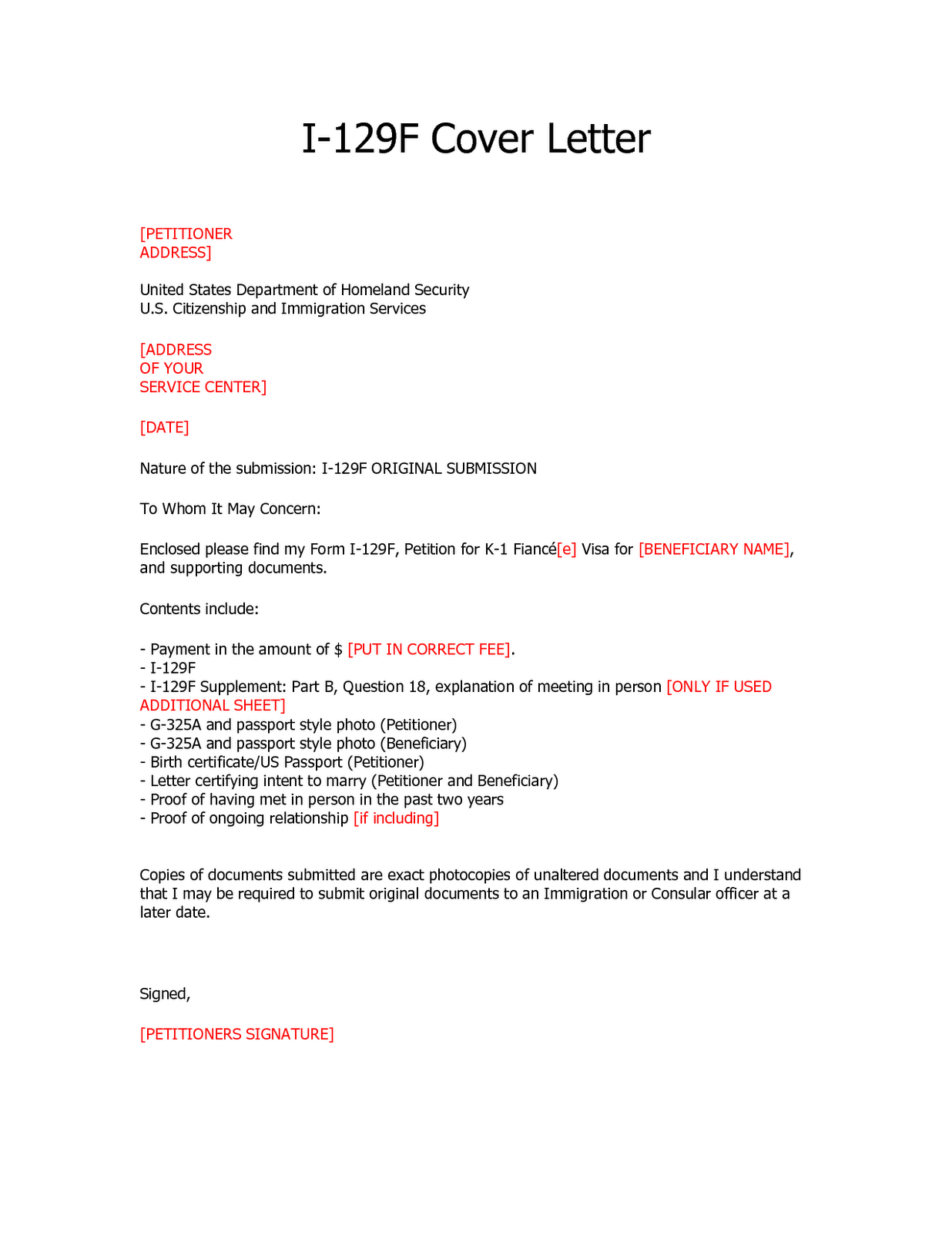 Visa Cover Letter 40  40px Visa Application Letter   Letter ...