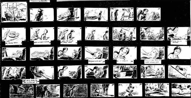 Storyboard Riddick  GoogleSgning  Tegneserie Storyboard