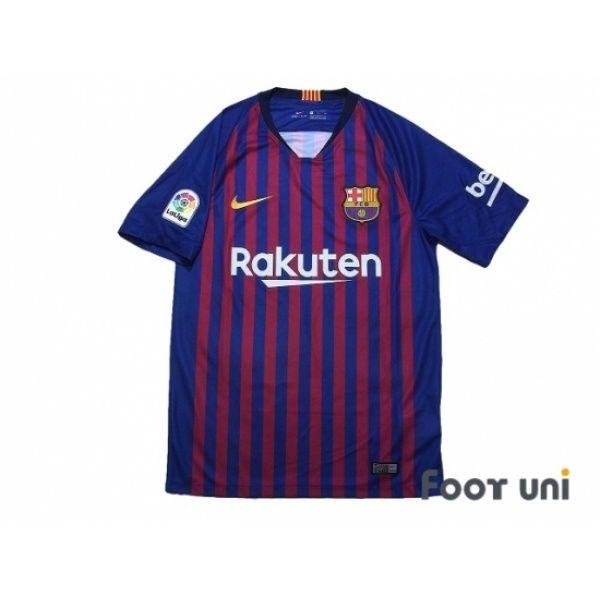 1610996a9 FC Barcelona 2018-2019 Home Shirt La Liga Patch Badge w tags