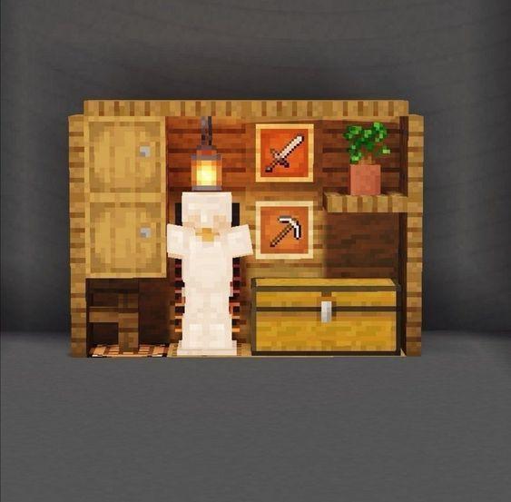 Mueble #minecraft