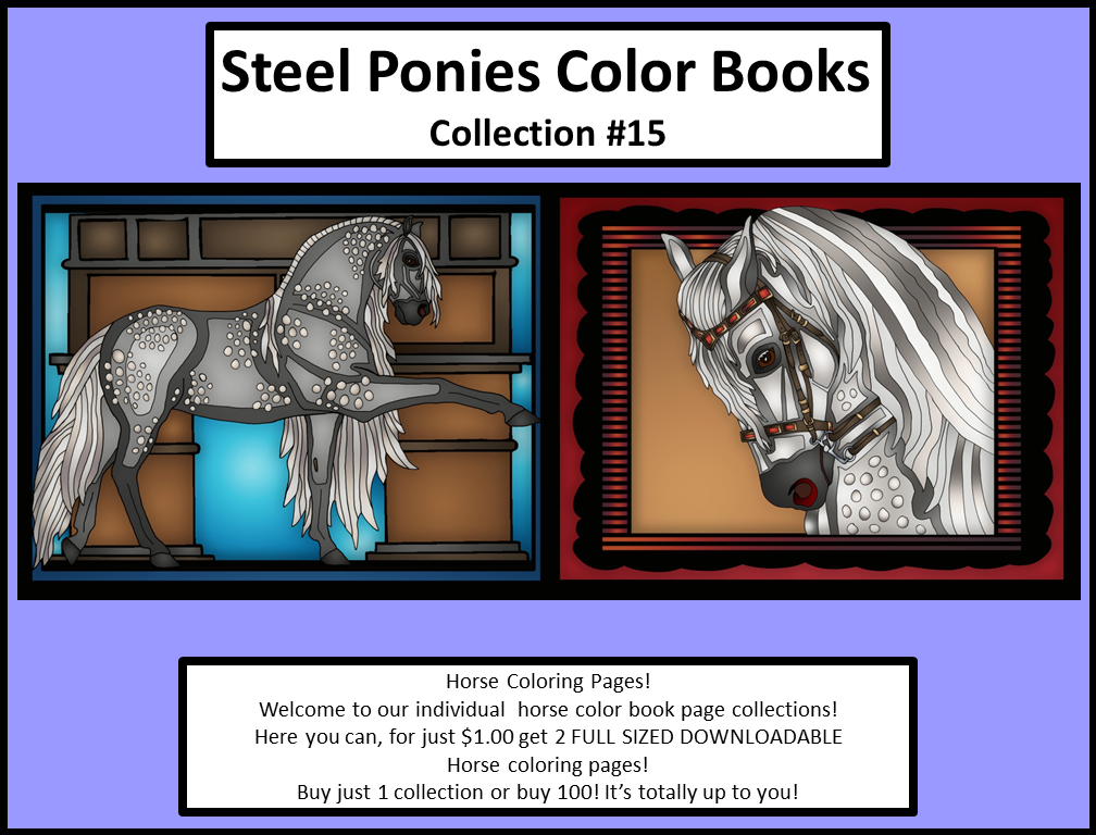 Horse Color Pages Collection 15