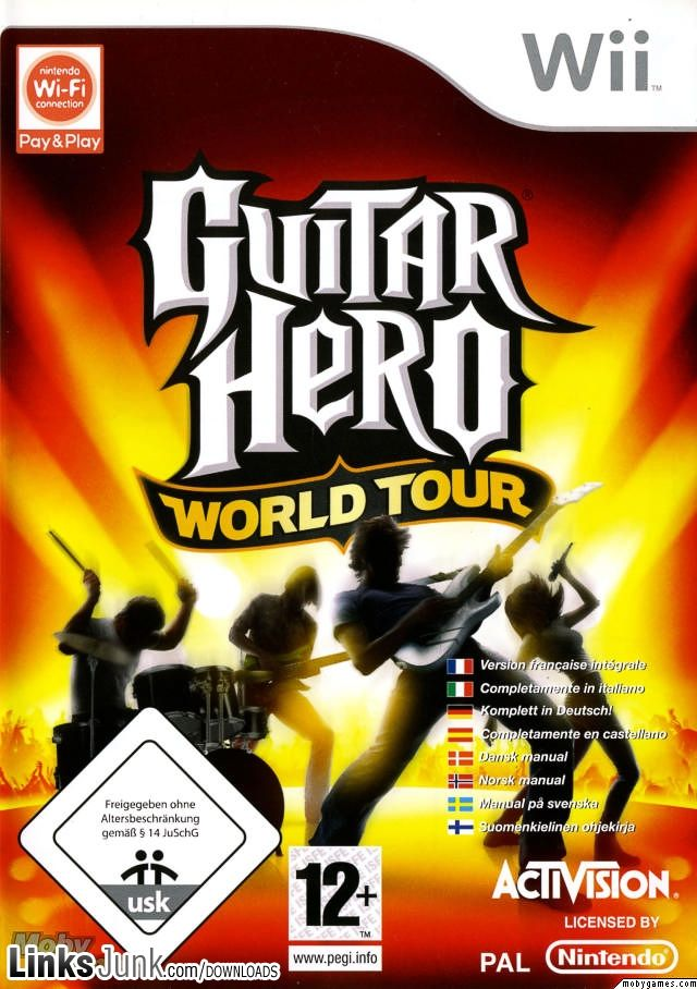 guitar hero world tour wii iso wii iso hero world xbox 360 games family video games. Black Bedroom Furniture Sets. Home Design Ideas