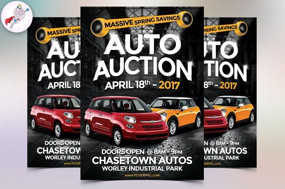 Auto Sales Flyer Flyer template, Template and Business flyers