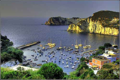 Ponza Island - Le Forna by photogator@76, via Flickr