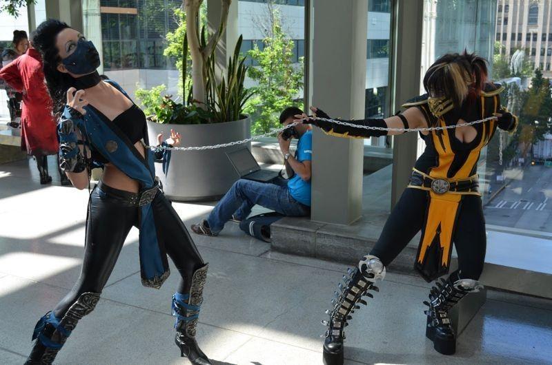Mortal Kombat Legacy Sub Zero Costume Mortal_Kombat Rule_63 ...