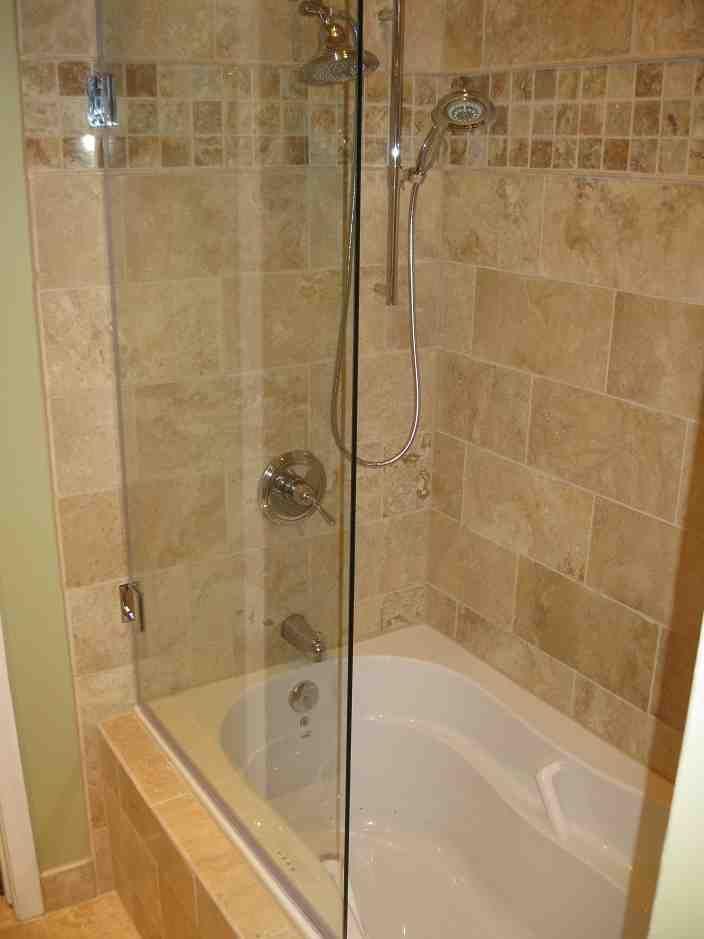 bathtub glass shower doors decor ideasdecor ideas creative designs ...