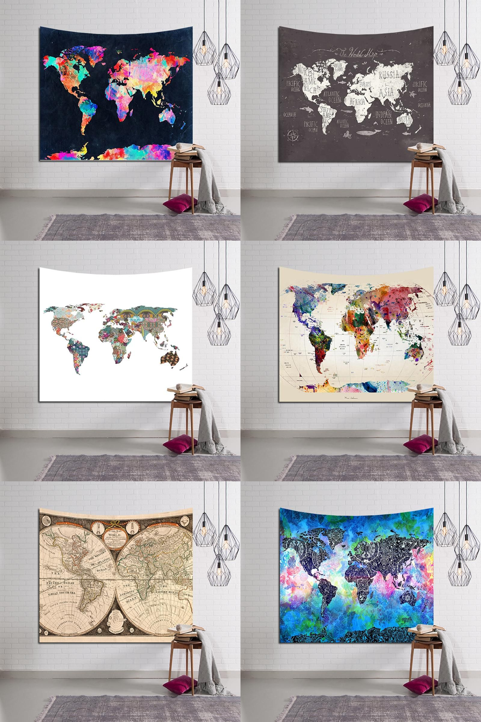Visit to buy thin world map colorful style yoga mat bedding decor visit to buy thin world map colorful style yoga mat bedding decor tapestry printed gumiabroncs Choice Image