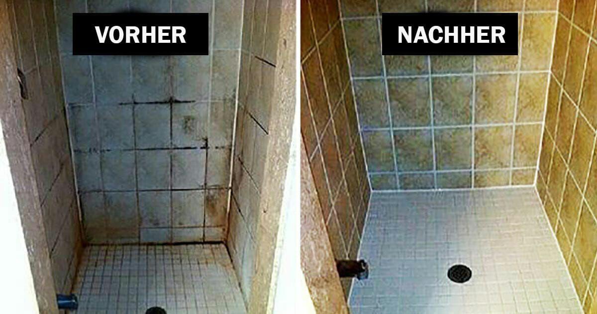 Simpler Trick Zum Putzen Vom Badezimmer Mit Haushaltsmitteln Badezimmer Putzen Tipps Reinigen Badezimmer Putzen