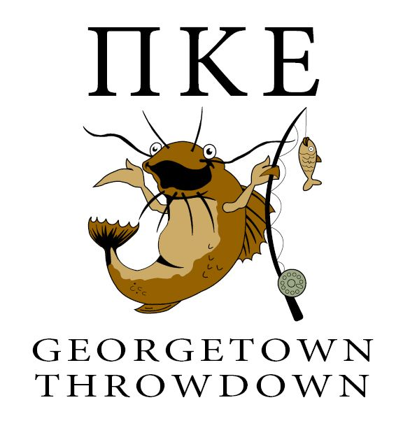 Georgetown Throw down designed by Emily Clark