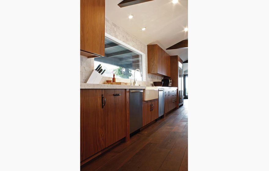 Walnut Veneer Kitchen | Cabinet Door Gallery | Kitchen ...