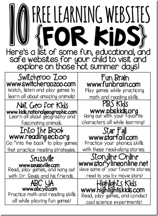 a year of many firsts: Ready Made for Second Grade! Free Websites ...