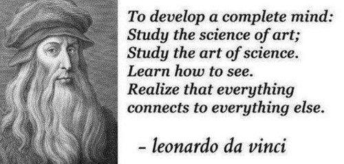 Study Everything Inspiring Ideas Pinterest Quotes Leonardo Da