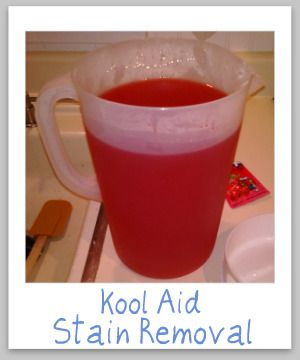 Tips For Removing Kool Aid Stains Diy Carpet Stain Remover Kool Aid Diy Stain Remover