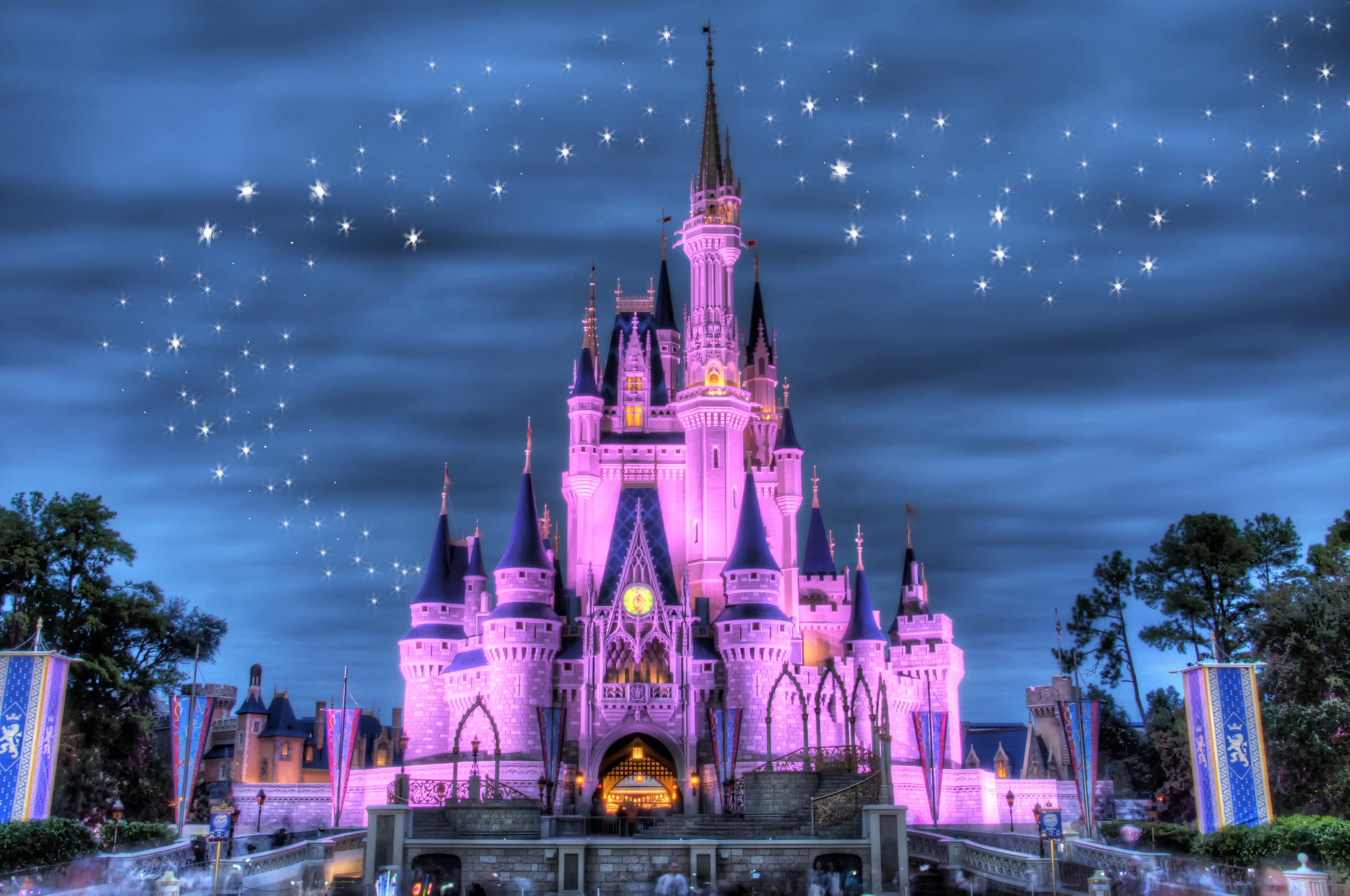 Cinderella Castle Castillo Mural Castillo De Disney Castillo De Princesa