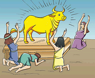 Golden Calf Worshipers; Baal Worship; The Ten Commandments: The ...