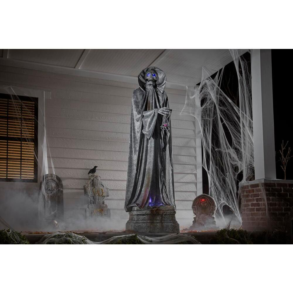 Home Accents Holiday 7 ft. Animated LED Cemetery Statue