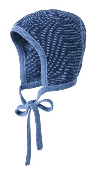 942f251038d Disana Organic Merino Wool Knitted Melange Bonnet