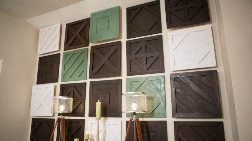 Wooden flip flop wall decor