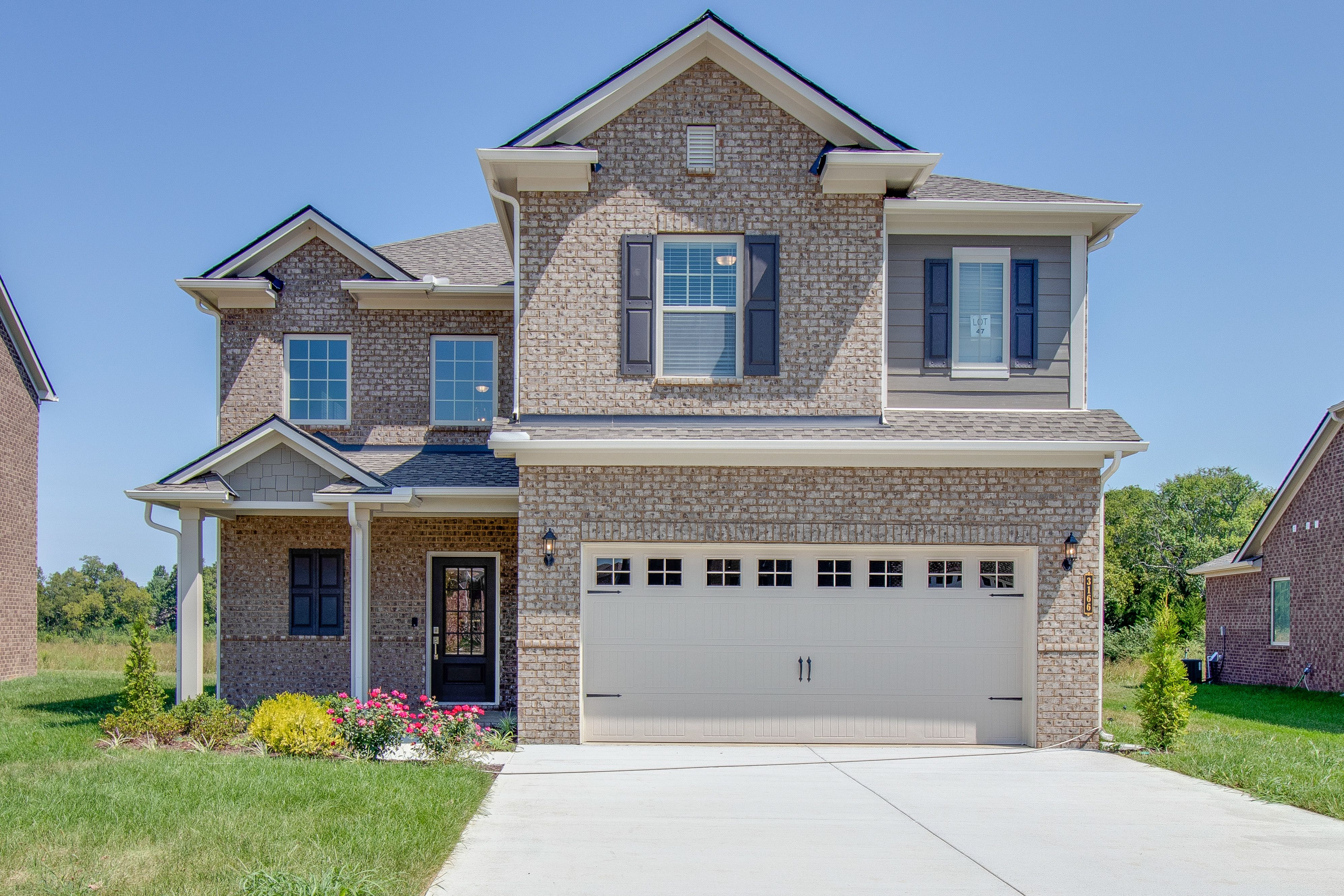 At Over 2 500 Square Feet The Rosemary Is The Largest Plan Of The Classic Collection At Valleybrook I New House Plans New Home Communities Modern Floor Plans