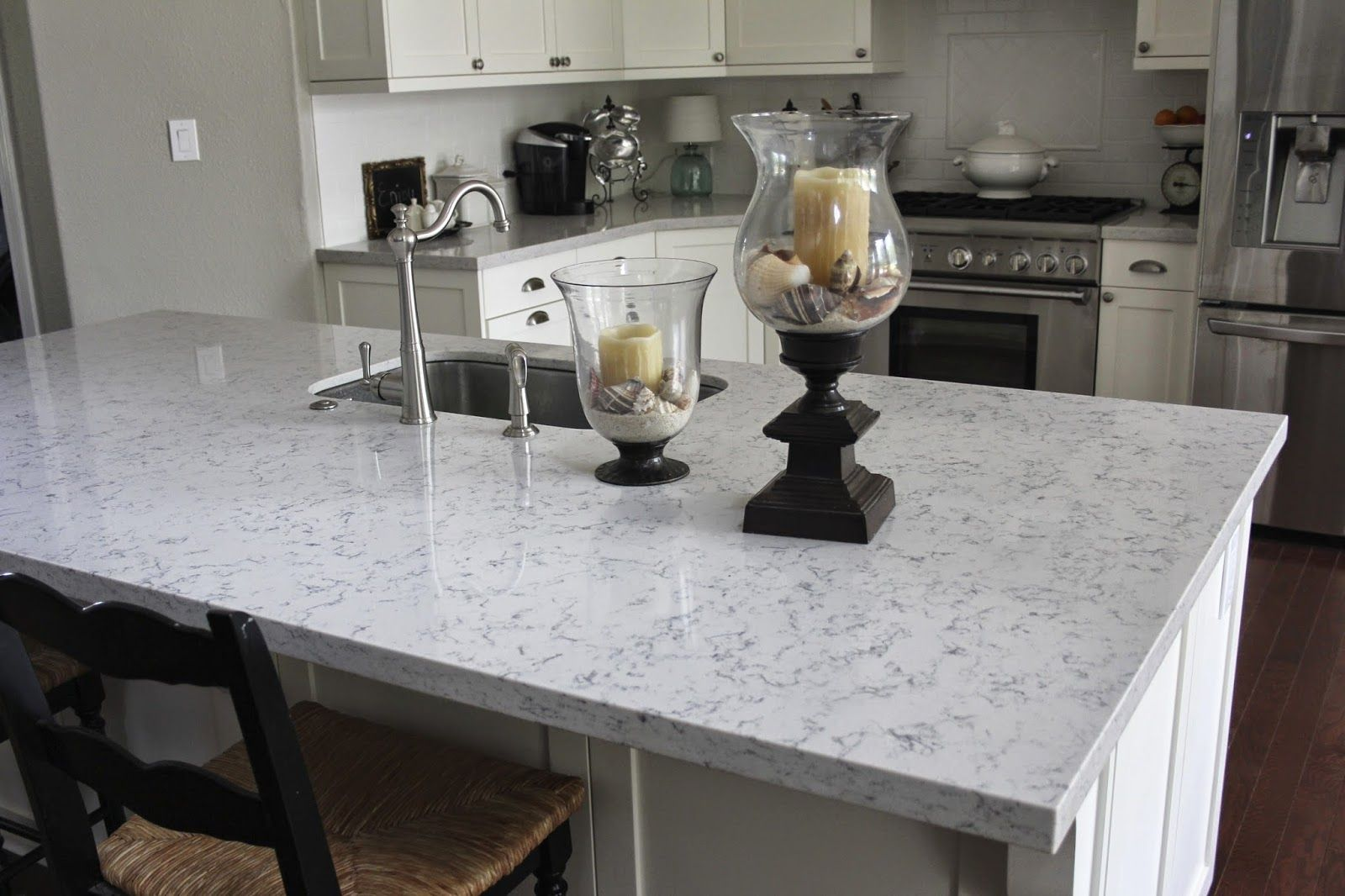 Silestone Lyra Great Marble Alternative Lakes