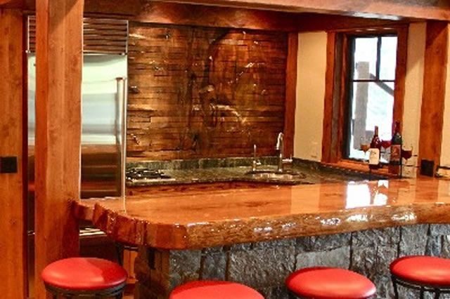 Wood Bar Top Ideas | Wood Top