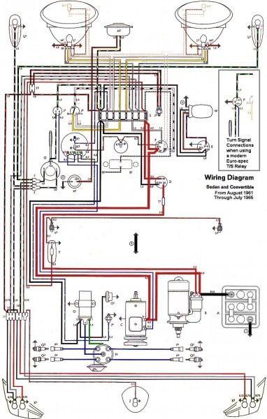 Thesamba Com Type 1 Wiring Diagrams | Motor de vocho ...