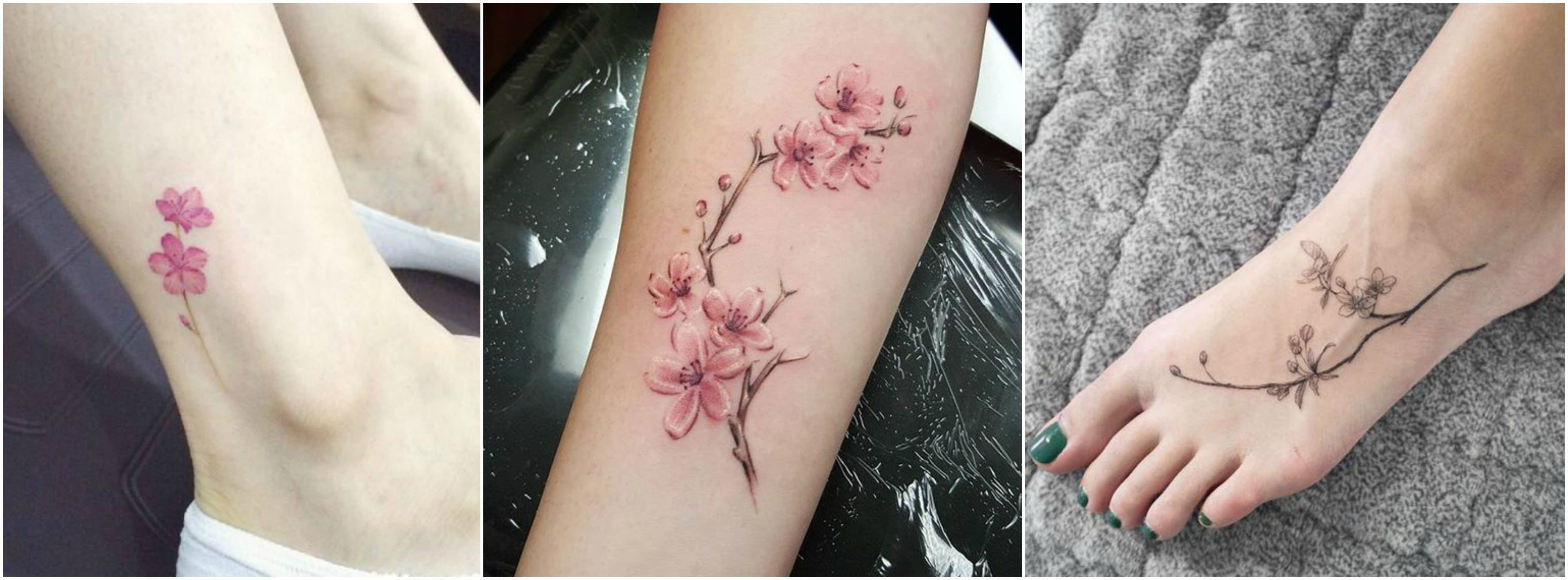 Uncover The Deep Meaning Of A Cherry Blossom Tattoo 3 Cherry Blossom Tattoo Blossom Tattoo Japanese Tattoo Cherry Blossom