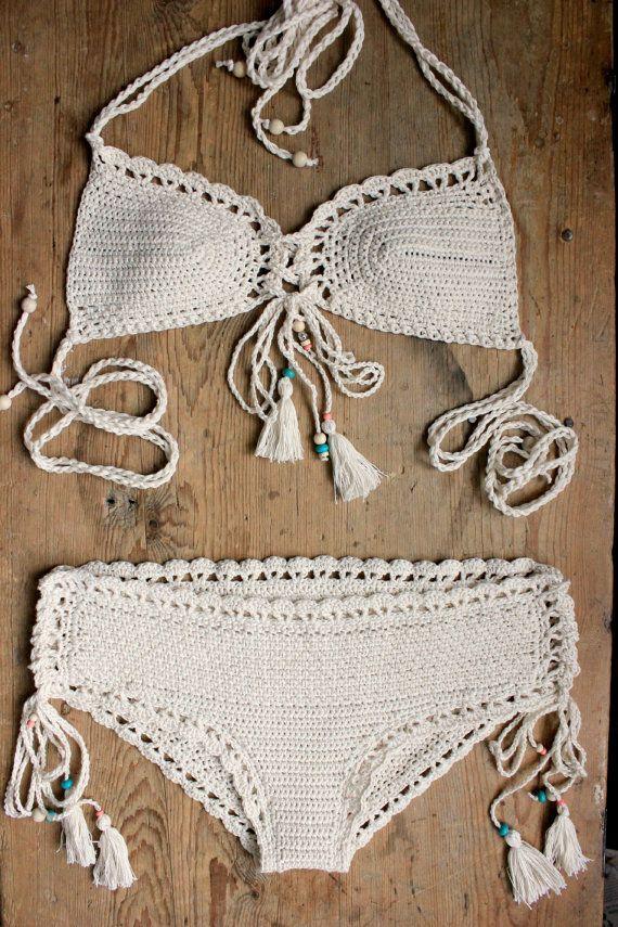 2 Pdf Crochet Patterns Capheira Bikini Pattern With Charts And