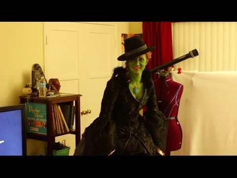 DIY Once Upon a Time Wicked Witch of the West Costume - YouTube