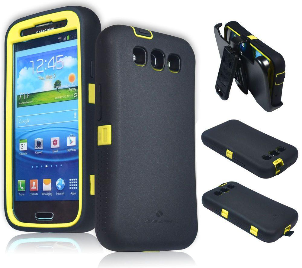 Samsung galaxy battery s3 verizon - Zerolemon Yellow Black Zero Shock Series Hybrid Case For Samsung Galaxy S3 S Iii Zerolemon