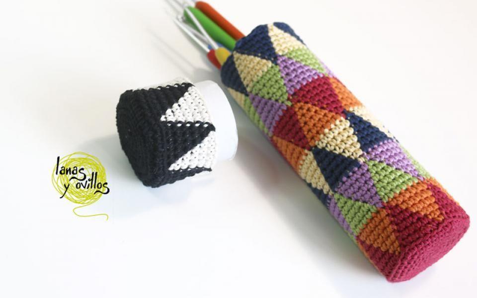 Crochet Case free pattern with video tutorial   Bags Wayuu ...
