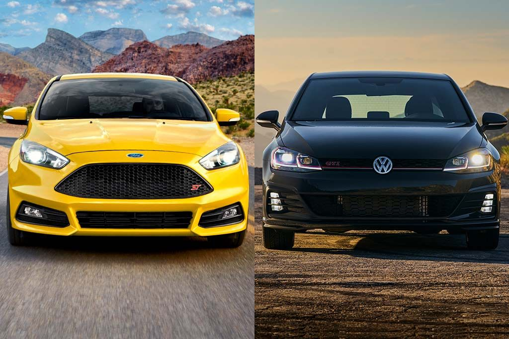 2019 Ford Focus St Vs 2019 Volkswagen Golf Gti Which Is Better