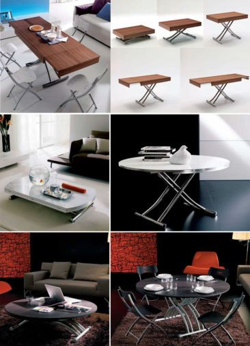 Multi Functional Furniture Transform Your Coffee Table Into A Desk Or A Dining Table Multifunctional Furniture Functional Furniture Flexible Furniture