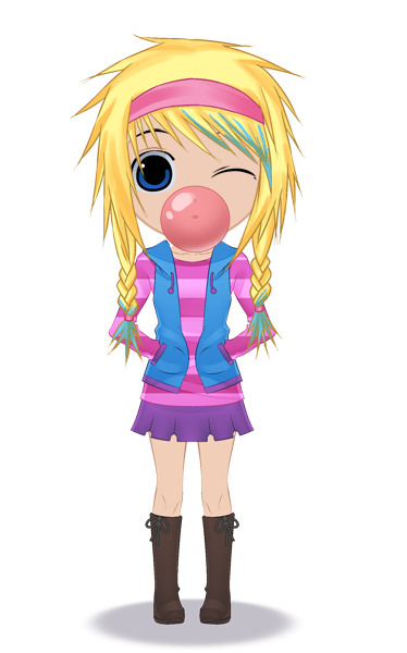 Register For A Profile On Cartoon Doll Emporium Fashion Game In