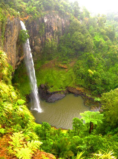 Bridal Veil Falls near Raglan, North Island, New Zealand by erikrasmussen, via Flickr
