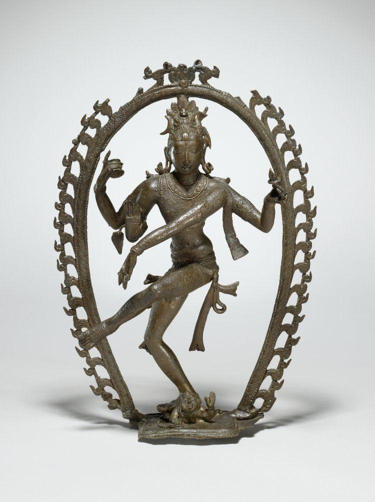 Pallava Period Circa 8th 9th Century Height 11 Inches Nataraja Indian Sculpture God Statue