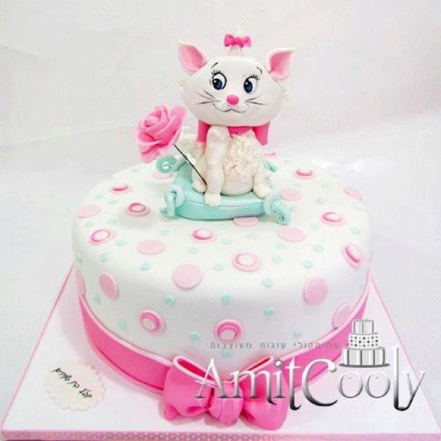 Birthday cakes for children Pinterest Aristocats