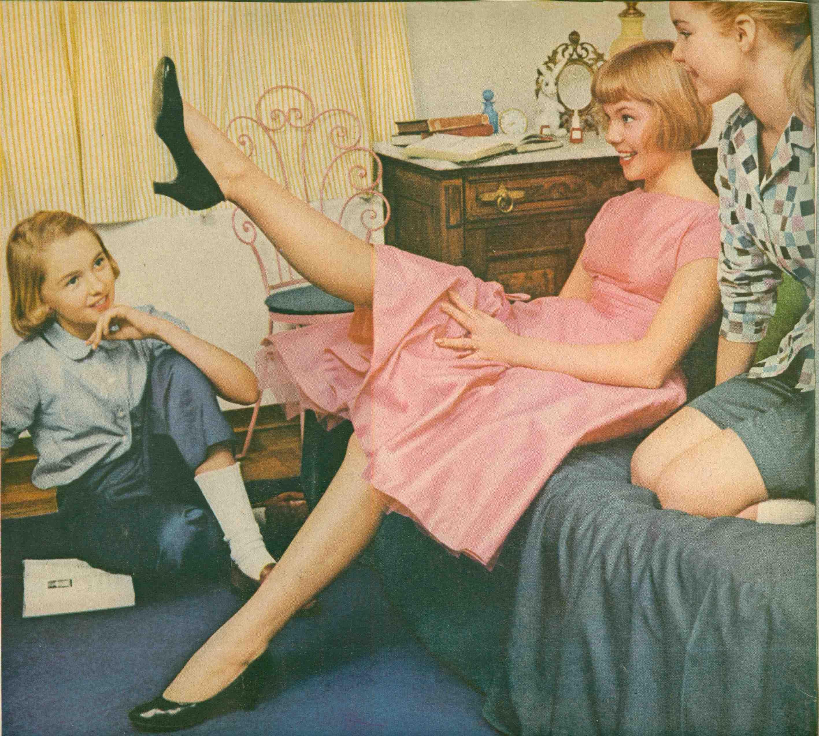 Vintage Family Nudist