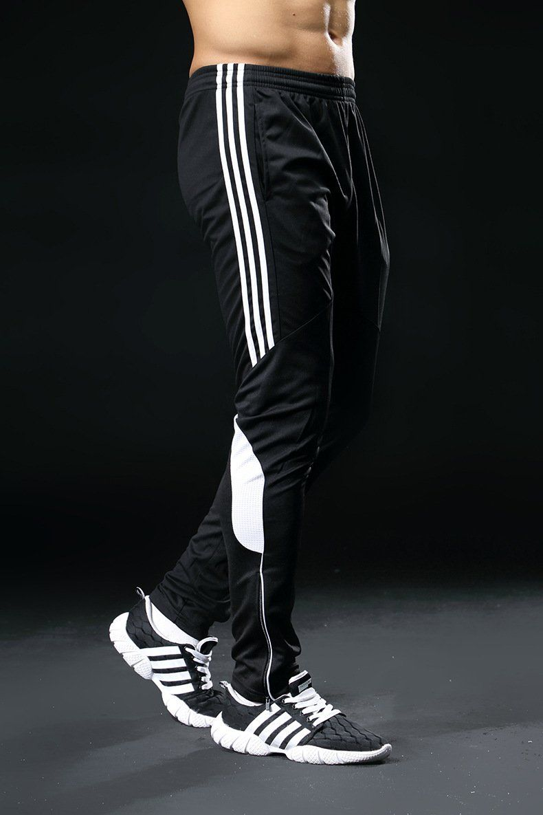 094b67800dcc 2019 Slim Fit Men Soccer Pants Long Breathable Football Gym Mens Sports  Joggings Sweatpants Leggings Masculina Pantalon Homme