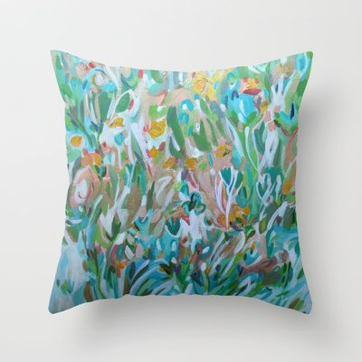 Master Bedroom April Throw Pillow By Jenny Vorwaller Throw Pillows Pinterest