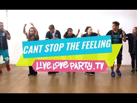 Cant Stop The Feeling By Justin Timberlake Zumba Live Love Party Dance Fitness Youtube Dance Workout Zumba Dance Zumba