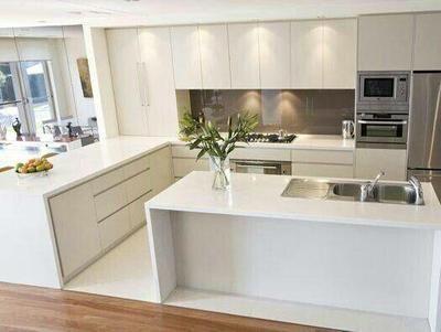 36 ideas para cocinas sencillas Decoracion de cocinas integrales - Cocinas Integrales Blancas