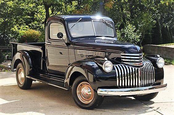 1946 Chevrolet Pickup Classic Trucks Classic Cars Trucks Chevy