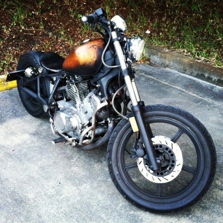 my first build yamaha virago 750 custom bobber moto. Black Bedroom Furniture Sets. Home Design Ideas