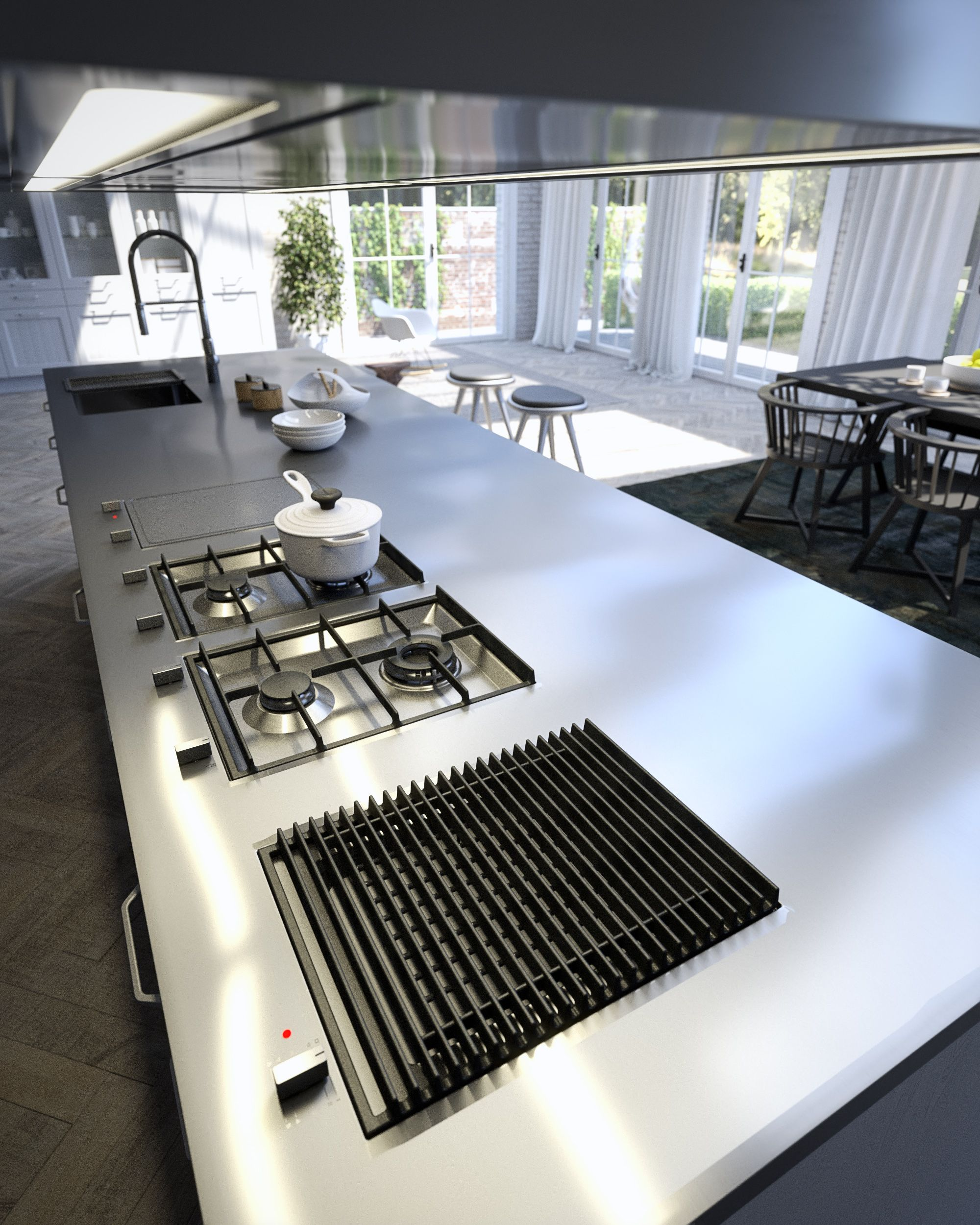 Cucina Kitchen Appliances Tutto Il Piacere Del Barbecue In Cucina Kitchen Kitchen
