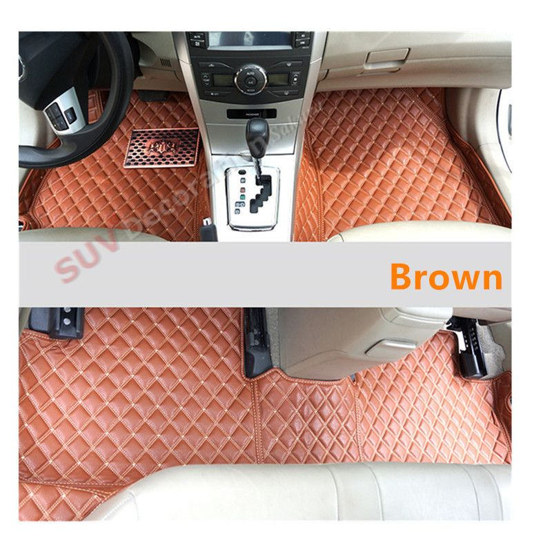 For Ford Mustang 2drs 2015 2016 Interior Car Floor Mats Foot Pad Covers Kits New Accessories Interior Accessories Leather Interior Car Covers