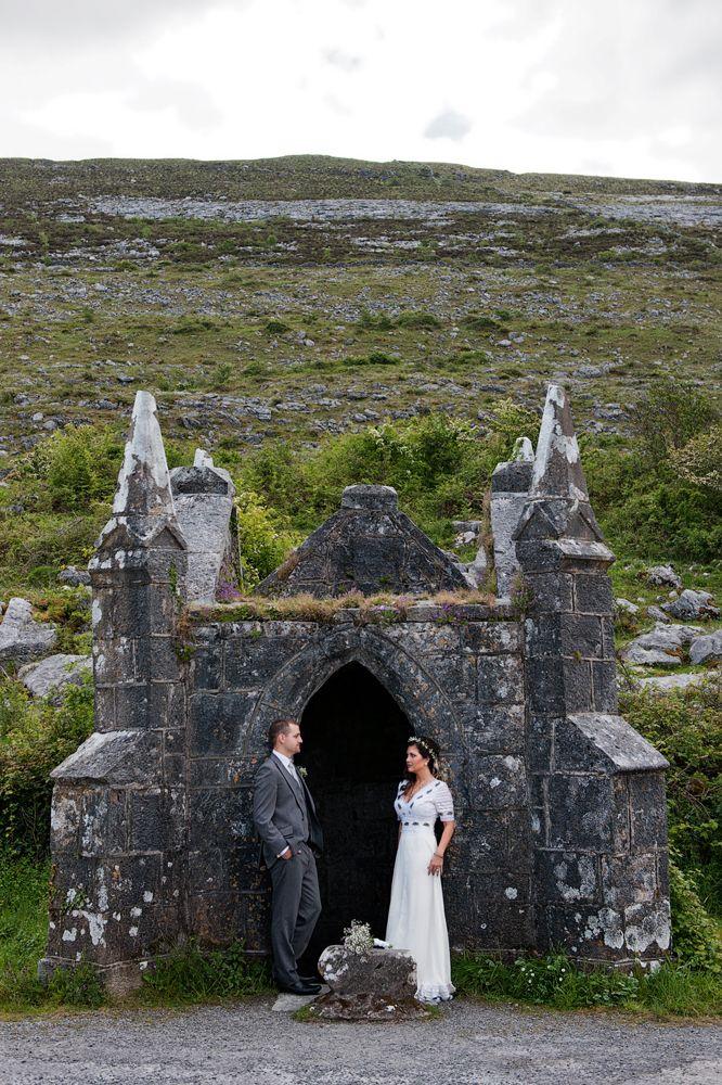 Intimate Irish wedding in Co Clare, Castle wedding Ireland