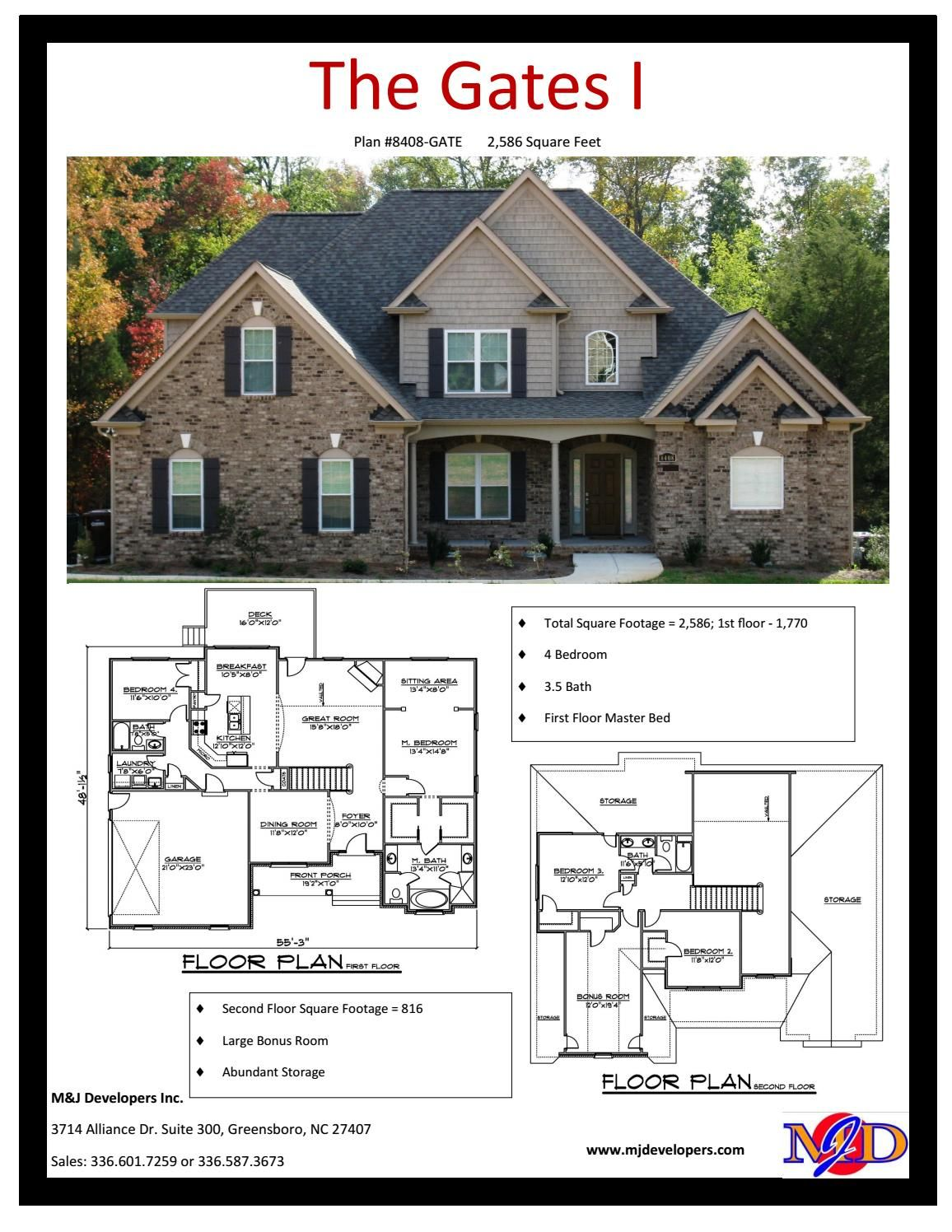 Planbook 2 500 To 2 999 Sq Ft 500 Sq Ft House House Plans House Styles